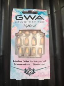 Girls Fake nails