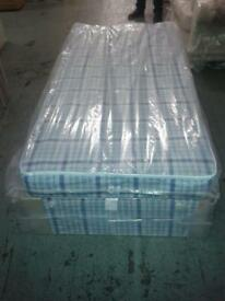 Brand new single divan bed and mattress - free delivery