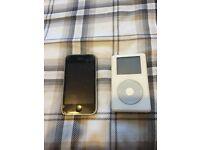 Apple iPhone 3G & iPod classic