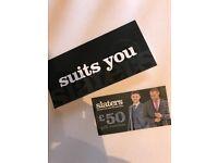 Slaters Menswear £50 Gift Voucher