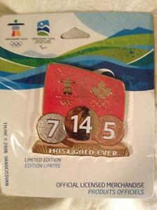 Olympic Most Medals Ever Pin