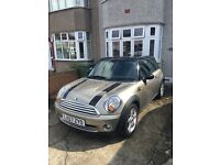 Immaculate Mini Cooper 1.6 petrol for sale, 12 months MOT, Full Service history.