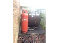 Empty 47kg Calor Gas Propane Cyclinder