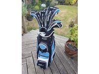 Ben Sayers ladies golf clubs m7 & bag