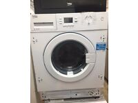 Beko WI1483 Integrated 8kg Washing Machine White Graded