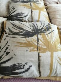 Cushions from NEXT, and Dunelm