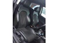 2013 Audi TT S-Line Half Suede Leather seats