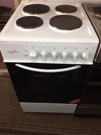Excellent Con Single Cavity Electric Cooker, 50cm - White. NO OFFERS RRP £250