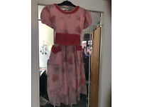 Vintage party dress for a girl by Favette - 1950s to early 60s Collect from Fleet or Wokingham