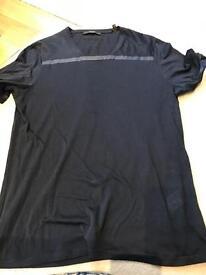 Zegna navy t shirt