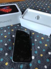 iPhone 6s 128gb in space grey unlocked