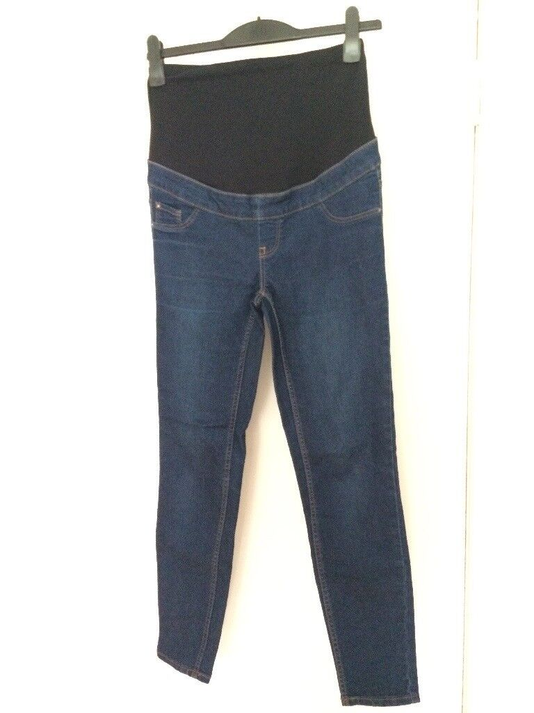 New Look - Size 8 Over the bump maternity jeggings