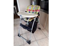 Chicco high chair - excellent condition