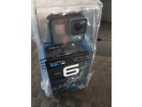 GoPro Hero 6 Black Edition, still sealed BRAND NEW