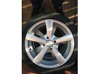 Wheels and tyres for Peugeot 107 195/45/15
