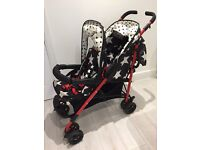 Cosatto Shuffle Double Buggy for Sale