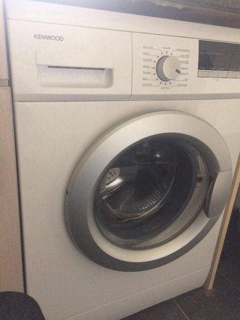 Kenwood Washing Machine 1 year old perfect working order