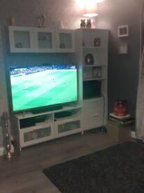 Livingroom tv display unit