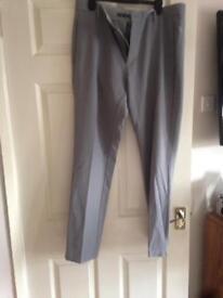 Men's Adidas Grey Golf Pants Size 34 x 32