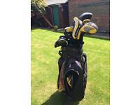Left handed king cobra golf clubs