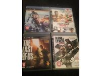 PlayStation 3 games.