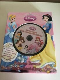 Audio books with cd. Disney Princess