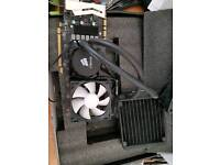 Nvidia GTX 970 GPU Graphics Card. Water cooler.