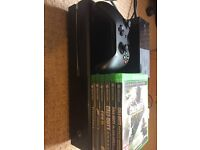 Xbox One With Six Games Including All Accessories