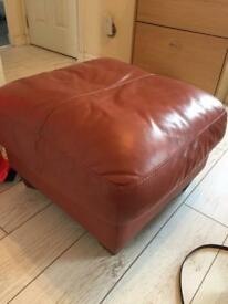 Terracotta Footstool