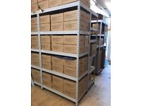 Grey Warehouse Racking (Rapid Racking) - 2200mm High x 1200mm Wide x 600mm