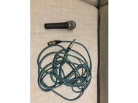 Shure SM58 Dynamic Vocal Microphone + cable