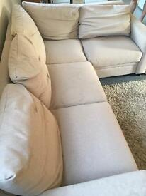 Beautiful Right Hand Corner Sofabed | Natural | RRP £549