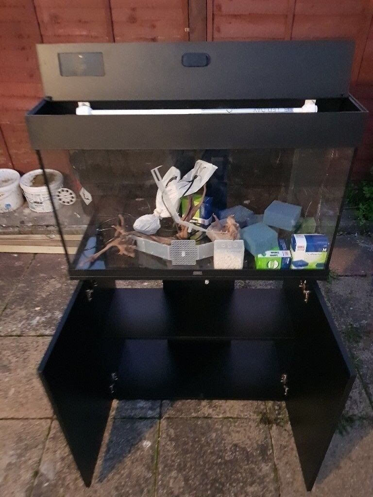 Juwel Rio 125 Litre Fish Tank And Stand In Led Style In Black In Streatham London Gumtree