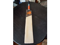 Powerful Cricket Bat 5 Grains 2.6 Pound 40mm EDGE TOP ENGLISH Willow Oval Handle