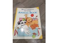 Animal book with lift up flaps