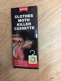 Moth killer cassette