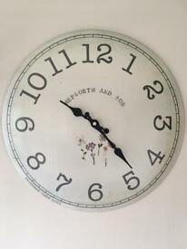 Next Home vintage style wall clock