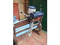 BRITISH SEAGULL 40 SHORT SHAFT OUTBOARD BOAT ENGINE WITH BAG WORKS GREAT CB5 £125