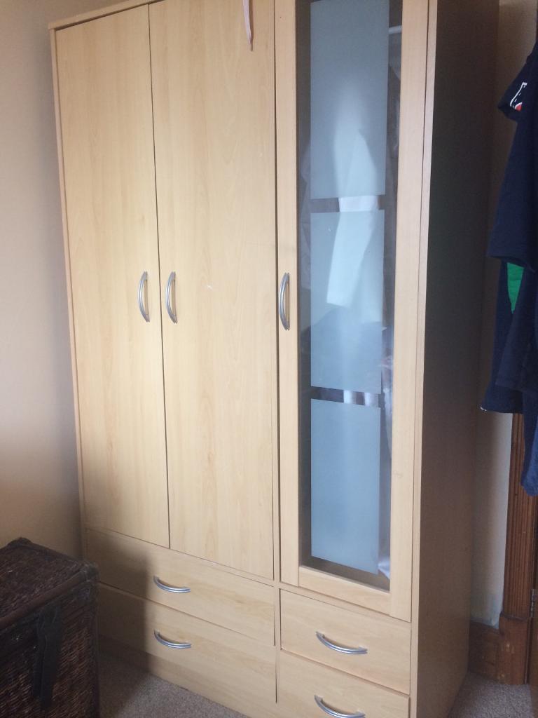Triple Wardrobe In Preston Lancashire Gumtree
