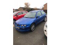 Metallic Blue MG ZR 2003