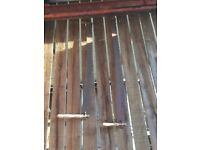 2no Crosscut Hand Saws 4ft & 5ft