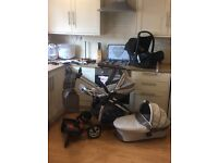 Icandy complete travel system with extras