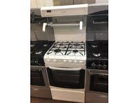 50CM WHITE CANNON EYE LEVEL GAS COOKER