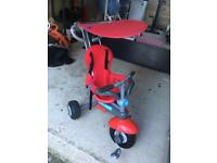 Toddler smart trike bike