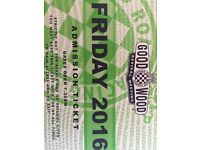 Goodwood Revival Friday General Admission ticket