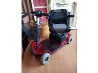 mobility scooter pride revo 4 new batteries and serviced