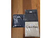 Calvin Klein T shirts, in the original packages £7~