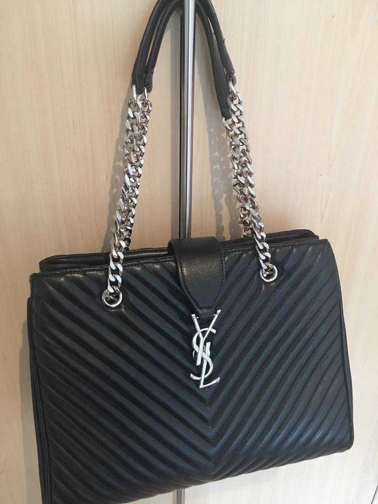 4cb2ec36d65 YSL black handbag | in Aberdeen | Gumtree