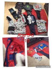 Boy clothes age 5-6