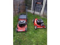 2 mowers
